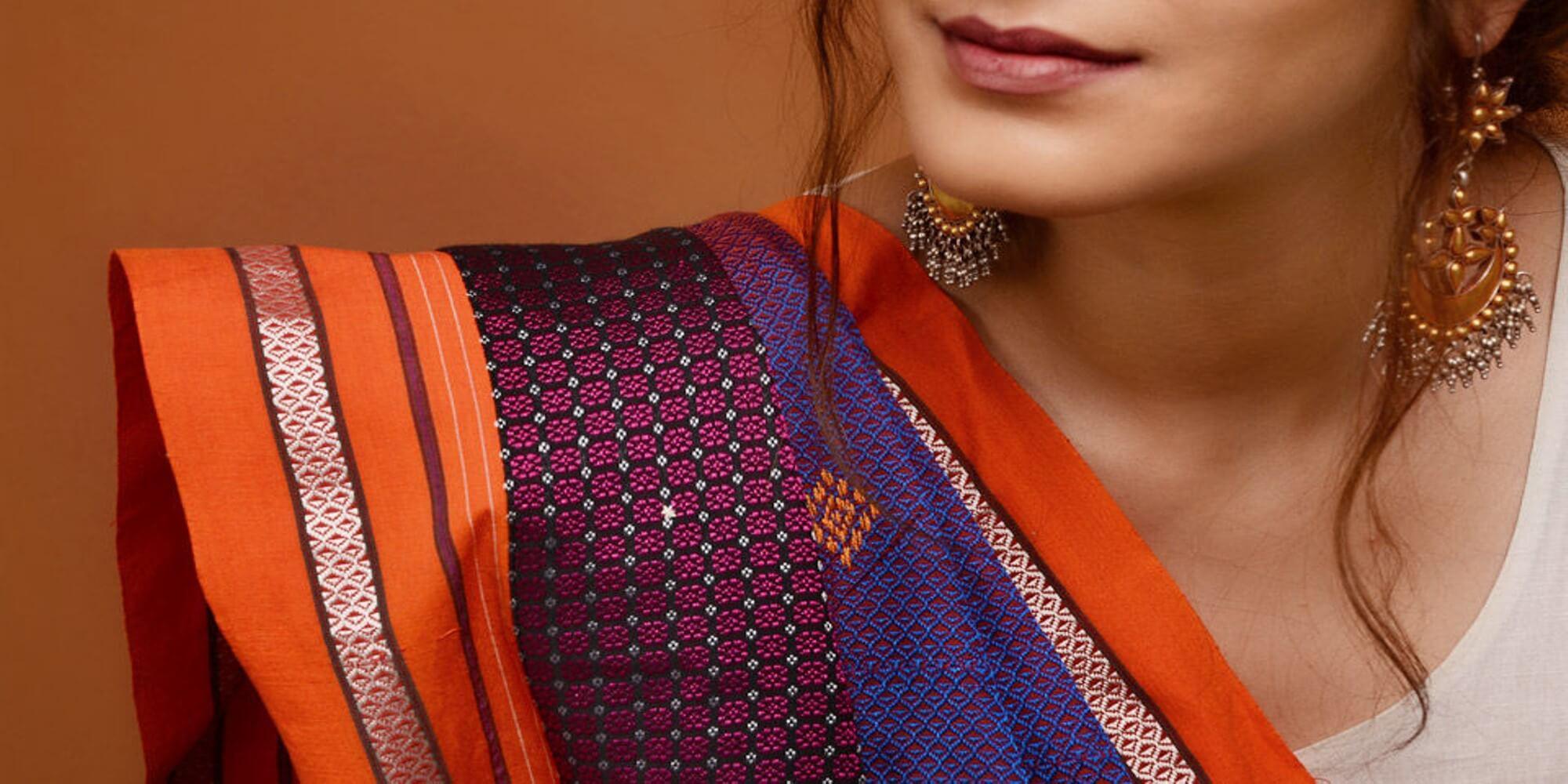 kastui folk embroidery karnataka image